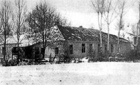 П-образное здание школы